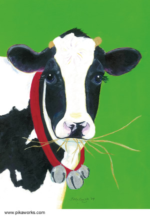 Jingle Bell Jane Vermont Cow